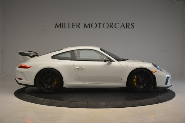 Used 2018 Porsche 911 GT3 for sale Sold at Rolls-Royce Motor Cars Greenwich in Greenwich CT 06830 7