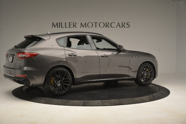 New 2019 Maserati Levante SQ4 GranSport Nerissimo for sale Sold at Rolls-Royce Motor Cars Greenwich in Greenwich CT 06830 8