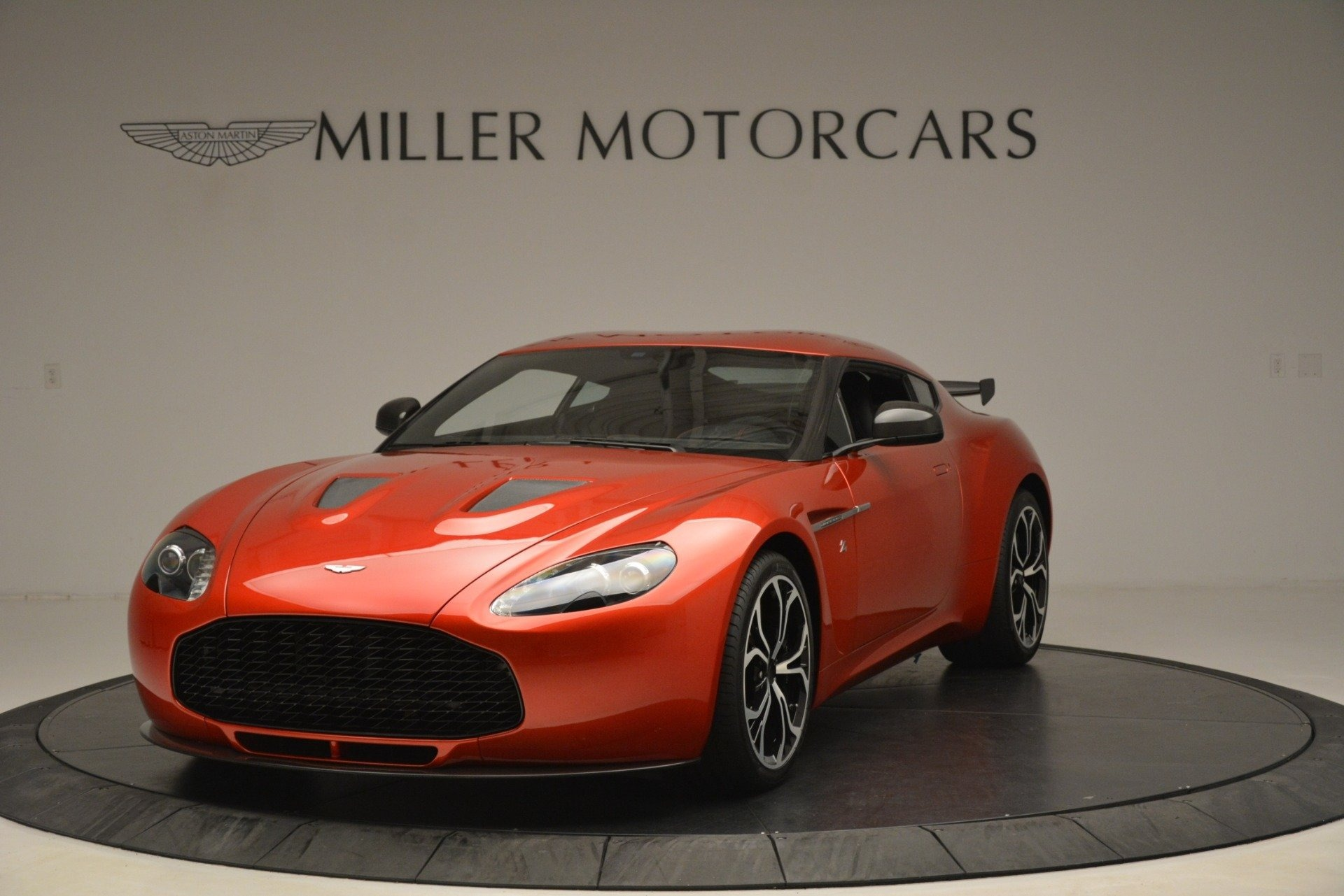 Used 2013 Aston Martin V12 Zagato Coupe for sale Sold at Rolls-Royce Motor Cars Greenwich in Greenwich CT 06830 1