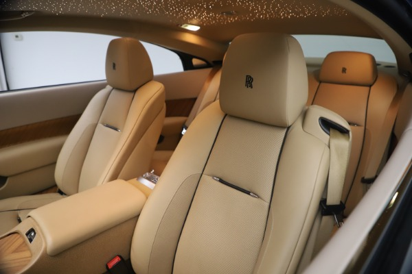 Used 2015 Rolls-Royce Wraith for sale Sold at Rolls-Royce Motor Cars Greenwich in Greenwich CT 06830 17