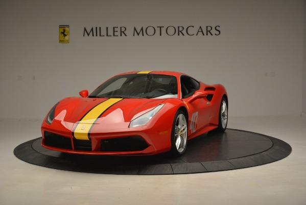 Used 2018 Ferrari 488 GTB for sale Sold at Rolls-Royce Motor Cars Greenwich in Greenwich CT 06830 1