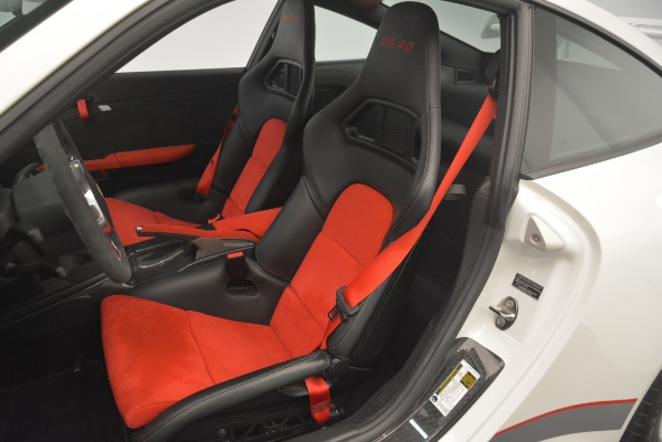 Used 2011 Porsche 911 GT3 RS 4.0 for sale Sold at Rolls-Royce Motor Cars Greenwich in Greenwich CT 06830 15