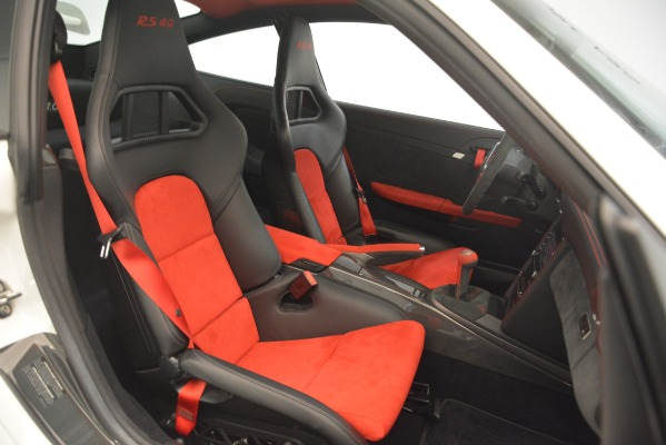 Used 2011 Porsche 911 GT3 RS 4.0 for sale Sold at Rolls-Royce Motor Cars Greenwich in Greenwich CT 06830 19