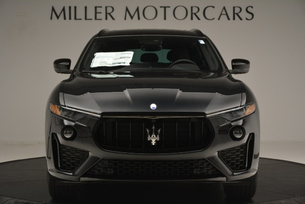 New 2019 Maserati Levante SQ4 GranSport Nerissimo for sale Sold at Rolls-Royce Motor Cars Greenwich in Greenwich CT 06830 12