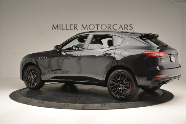 New 2019 Maserati Levante SQ4 GranSport Nerissimo for sale Sold at Rolls-Royce Motor Cars Greenwich in Greenwich CT 06830 4