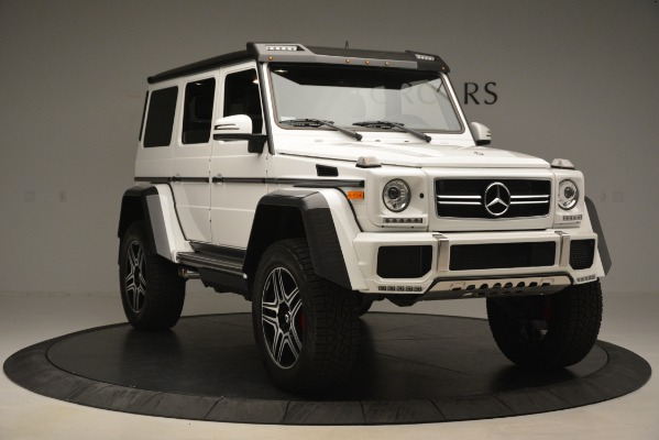 Used 2018 Mercedes-Benz G-Class G 550 4x4 Squared for sale Sold at Rolls-Royce Motor Cars Greenwich in Greenwich CT 06830 11