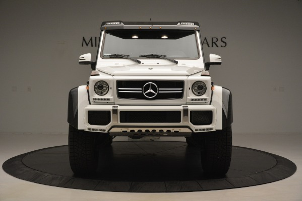 Used 2018 Mercedes-Benz G-Class G 550 4x4 Squared for sale Sold at Rolls-Royce Motor Cars Greenwich in Greenwich CT 06830 12