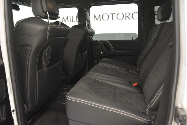 Used 2018 Mercedes-Benz G-Class G 550 4x4 Squared for sale Sold at Rolls-Royce Motor Cars Greenwich in Greenwich CT 06830 17