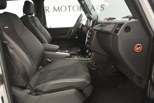 Used 2018 Mercedes-Benz G-Class G 550 4x4 Squared for sale Sold at Rolls-Royce Motor Cars Greenwich in Greenwich CT 06830 19
