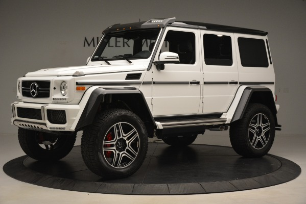 Used 2018 Mercedes-Benz G-Class G 550 4x4 Squared for sale Sold at Rolls-Royce Motor Cars Greenwich in Greenwich CT 06830 2