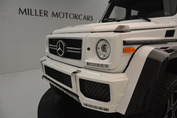 Used 2018 Mercedes-Benz G-Class G 550 4x4 Squared for sale Sold at Rolls-Royce Motor Cars Greenwich in Greenwich CT 06830 23