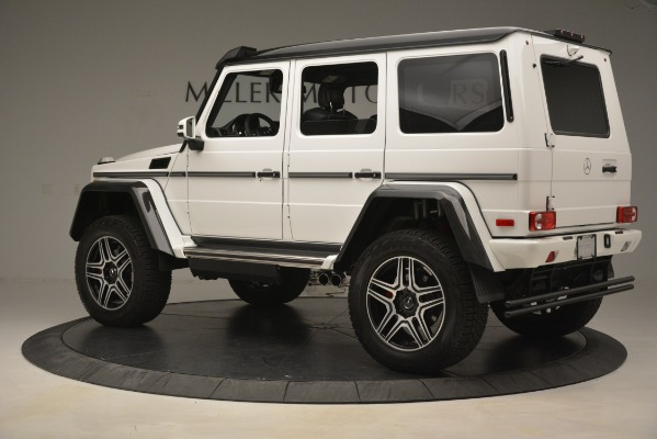 Used 2018 Mercedes-Benz G-Class G 550 4x4 Squared for sale Sold at Rolls-Royce Motor Cars Greenwich in Greenwich CT 06830 4
