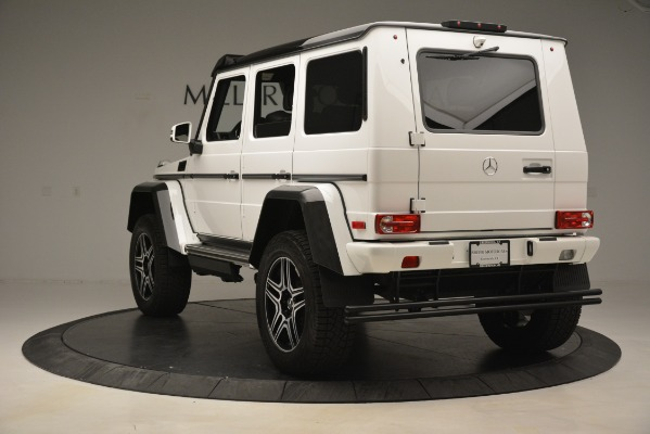 Used 2018 Mercedes-Benz G-Class G 550 4x4 Squared for sale Sold at Rolls-Royce Motor Cars Greenwich in Greenwich CT 06830 5