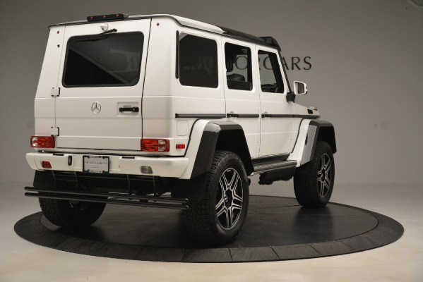 Used 2018 Mercedes-Benz G-Class G 550 4x4 Squared for sale Sold at Rolls-Royce Motor Cars Greenwich in Greenwich CT 06830 7