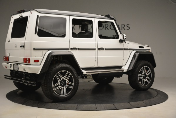 Used 2018 Mercedes-Benz G-Class G 550 4x4 Squared for sale Sold at Rolls-Royce Motor Cars Greenwich in Greenwich CT 06830 8