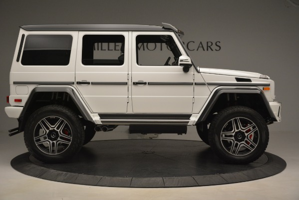 Used 2018 Mercedes-Benz G-Class G 550 4x4 Squared for sale Sold at Rolls-Royce Motor Cars Greenwich in Greenwich CT 06830 9