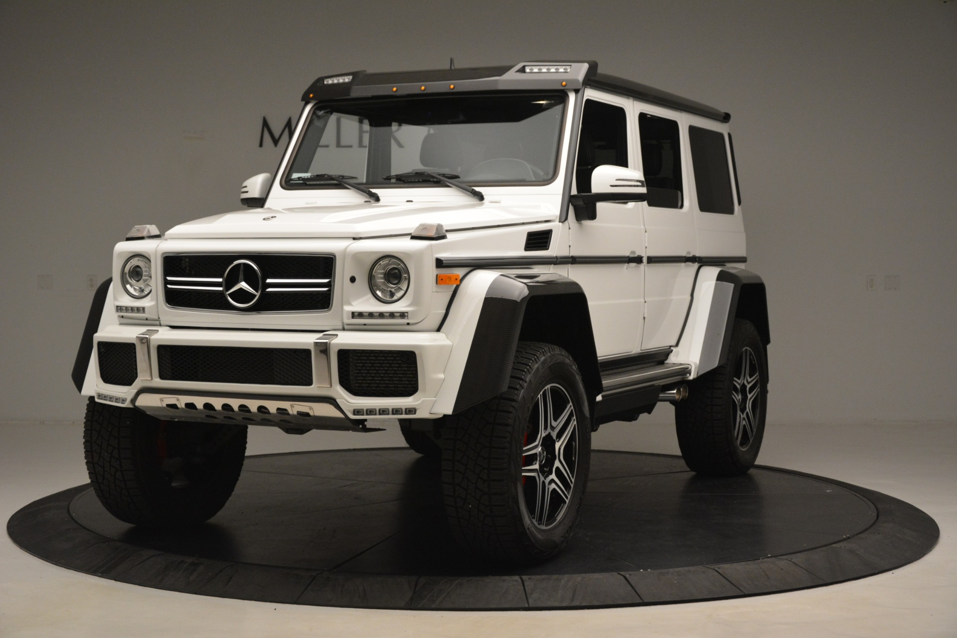 Used 2018 Mercedes-Benz G-Class G 550 4x4 Squared for sale Sold at Rolls-Royce Motor Cars Greenwich in Greenwich CT 06830 1