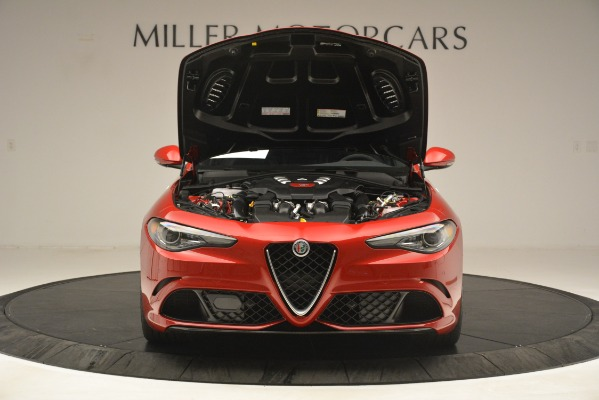 New 2019 Alfa Romeo Giulia Quadrifoglio for sale Sold at Rolls-Royce Motor Cars Greenwich in Greenwich CT 06830 13