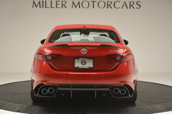 New 2019 Alfa Romeo Giulia Quadrifoglio for sale Sold at Rolls-Royce Motor Cars Greenwich in Greenwich CT 06830 6