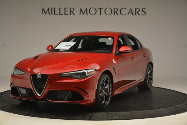 New 2019 Alfa Romeo Giulia Quadrifoglio for sale Sold at Rolls-Royce Motor Cars Greenwich in Greenwich CT 06830 1