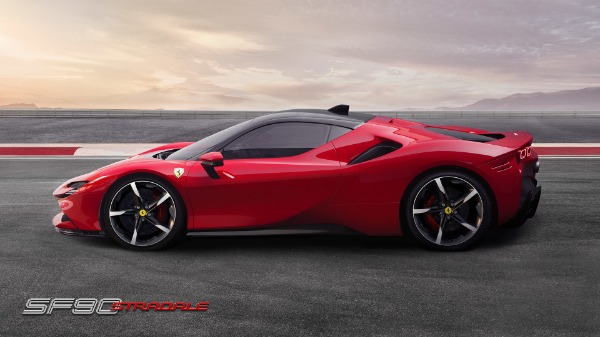 New 2021 Ferrari SF90 Stradale for sale Call for price at Rolls-Royce Motor Cars Greenwich in Greenwich CT 06830 3