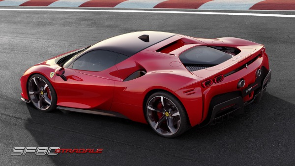 New 2021 Ferrari SF90 Stradale for sale Call for price at Rolls-Royce Motor Cars Greenwich in Greenwich CT 06830 4