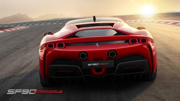 New 2021 Ferrari SF90 Stradale for sale Call for price at Rolls-Royce Motor Cars Greenwich in Greenwich CT 06830 5