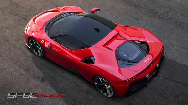 New 2021 Ferrari SF90 Stradale for sale Call for price at Rolls-Royce Motor Cars Greenwich in Greenwich CT 06830 6