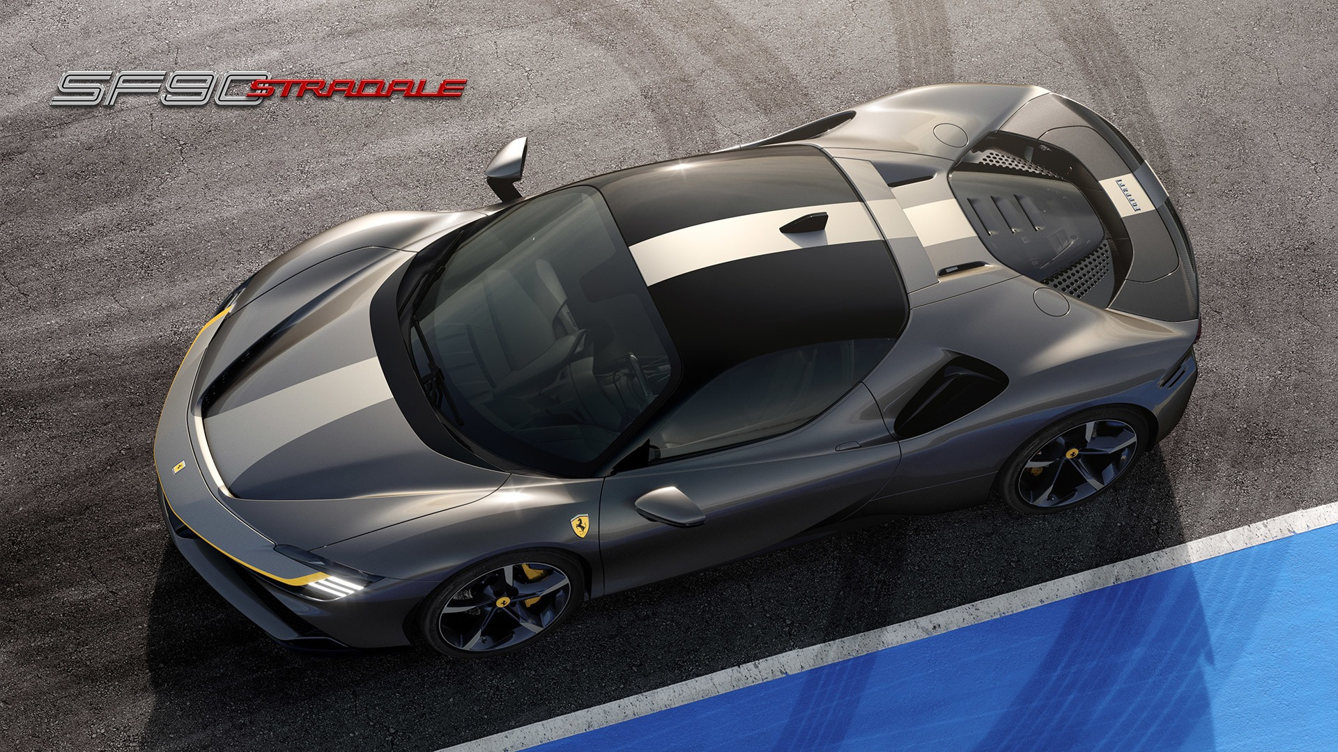 New 2021 Ferrari SF90 Stradale for sale Call for price at Rolls-Royce Motor Cars Greenwich in Greenwich CT 06830 1