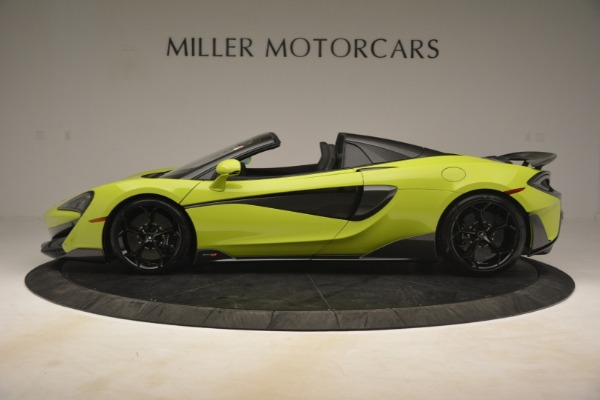 New 2020 McLaren 600LT Spider for sale $281,570 at Rolls-Royce Motor Cars Greenwich in Greenwich CT 06830 10
