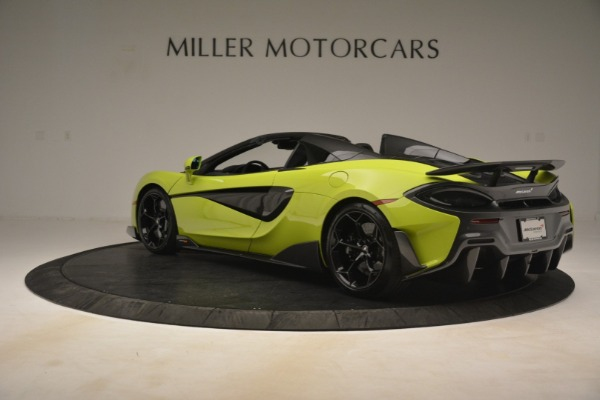 New 2020 McLaren 600LT Spider for sale $281,570 at Rolls-Royce Motor Cars Greenwich in Greenwich CT 06830 11