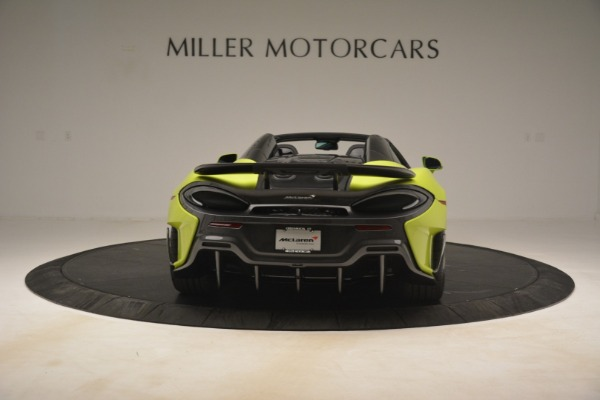 New 2020 McLaren 600LT SPIDER Convertible for sale $281,570 at Rolls-Royce Motor Cars Greenwich in Greenwich CT 06830 12