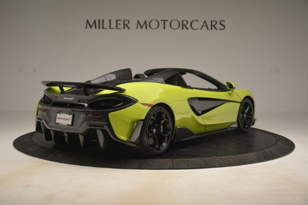 New 2020 McLaren 600LT SPIDER Convertible for sale $281,570 at Rolls-Royce Motor Cars Greenwich in Greenwich CT 06830 13