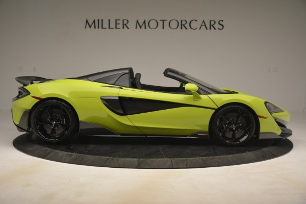 New 2020 McLaren 600LT Spider for sale $281,570 at Rolls-Royce Motor Cars Greenwich in Greenwich CT 06830 14