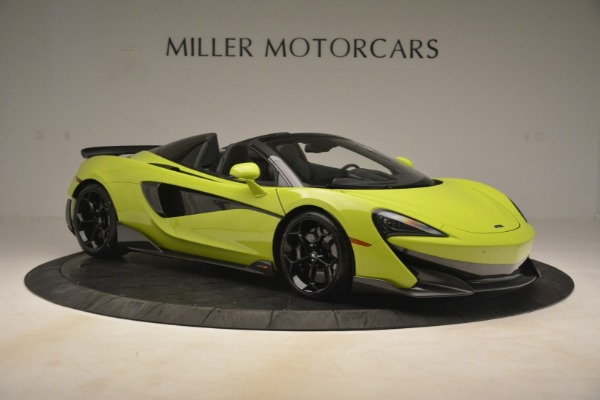 New 2020 McLaren 600LT SPIDER Convertible for sale $281,570 at Rolls-Royce Motor Cars Greenwich in Greenwich CT 06830 15