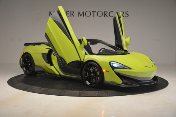 New 2020 McLaren 600LT SPIDER Convertible for sale $281,570 at Rolls-Royce Motor Cars Greenwich in Greenwich CT 06830 16