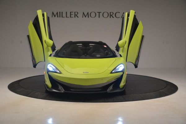 New 2020 McLaren 600LT SPIDER Convertible for sale $281,570 at Rolls-Royce Motor Cars Greenwich in Greenwich CT 06830 17