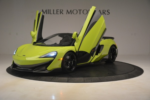 New 2020 McLaren 600LT SPIDER Convertible for sale $281,570 at Rolls-Royce Motor Cars Greenwich in Greenwich CT 06830 18
