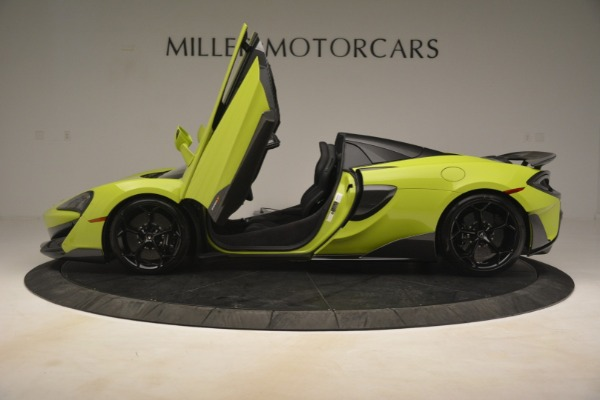 New 2020 McLaren 600LT SPIDER Convertible for sale $281,570 at Rolls-Royce Motor Cars Greenwich in Greenwich CT 06830 19