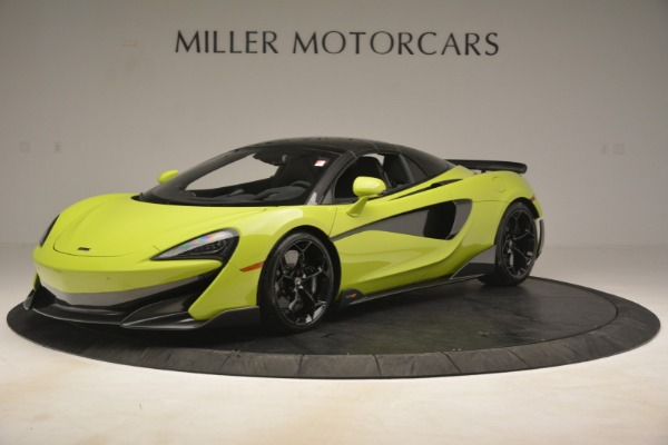 New 2020 McLaren 600LT Spider for sale $281,570 at Rolls-Royce Motor Cars Greenwich in Greenwich CT 06830 2