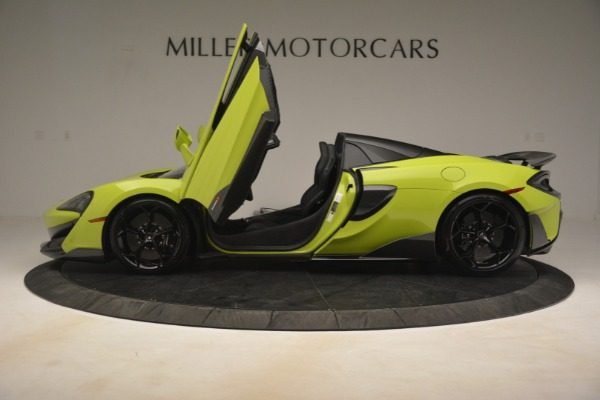 New 2020 McLaren 600LT Spider for sale $281,570 at Rolls-Royce Motor Cars Greenwich in Greenwich CT 06830 20