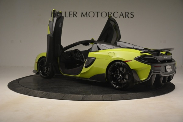 New 2020 McLaren 600LT Spider for sale $281,570 at Rolls-Royce Motor Cars Greenwich in Greenwich CT 06830 21