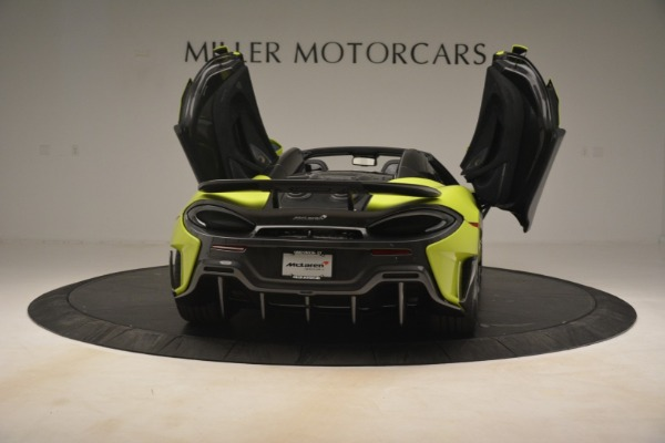 New 2020 McLaren 600LT Spider for sale $281,570 at Rolls-Royce Motor Cars Greenwich in Greenwich CT 06830 22
