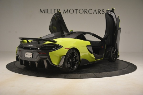 New 2020 McLaren 600LT Spider for sale $281,570 at Rolls-Royce Motor Cars Greenwich in Greenwich CT 06830 23