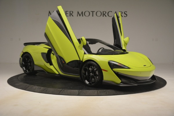 New 2020 McLaren 600LT SPIDER Convertible for sale $281,570 at Rolls-Royce Motor Cars Greenwich in Greenwich CT 06830 25