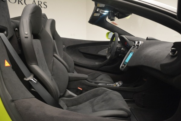 New 2020 McLaren 600LT SPIDER Convertible for sale $281,570 at Rolls-Royce Motor Cars Greenwich in Greenwich CT 06830 28