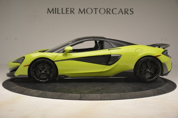 New 2020 McLaren 600LT Spider for sale $281,570 at Rolls-Royce Motor Cars Greenwich in Greenwich CT 06830 3