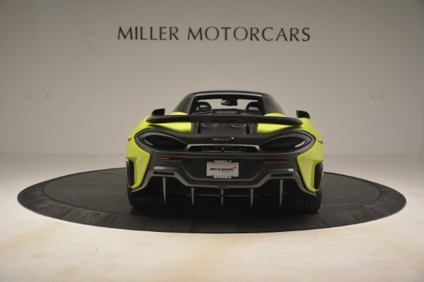 New 2020 McLaren 600LT Spider for sale $281,570 at Rolls-Royce Motor Cars Greenwich in Greenwich CT 06830 5