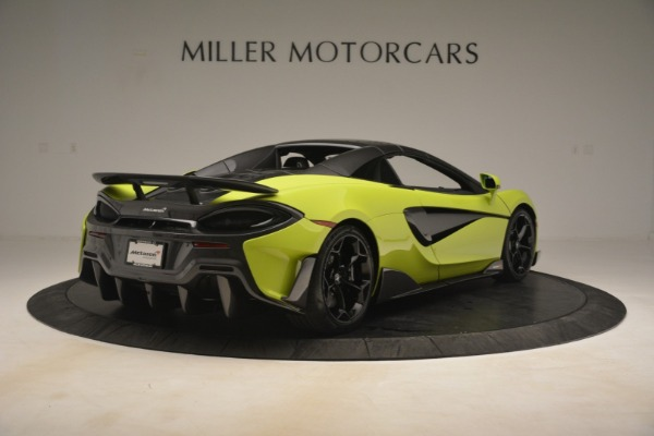 New 2020 McLaren 600LT SPIDER Convertible for sale $281,570 at Rolls-Royce Motor Cars Greenwich in Greenwich CT 06830 6