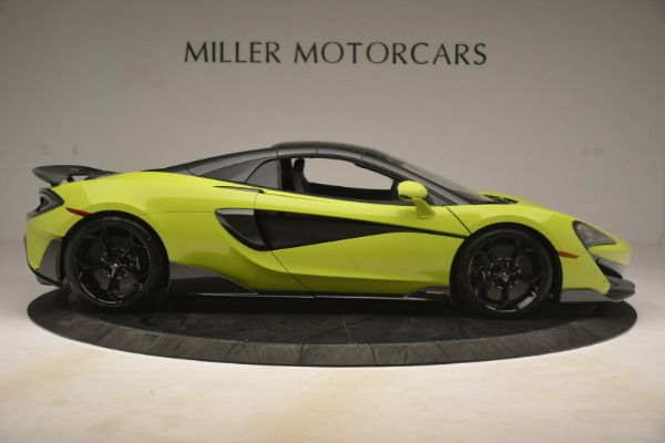 New 2020 McLaren 600LT Spider for sale $281,570 at Rolls-Royce Motor Cars Greenwich in Greenwich CT 06830 7